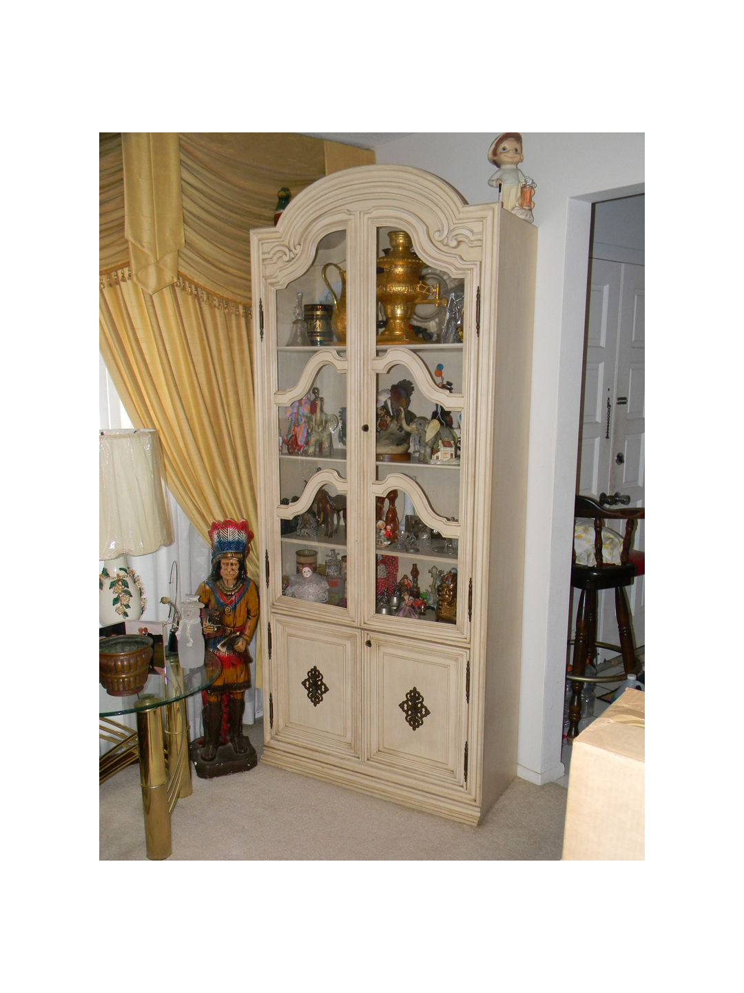 Designer Antique White China Cabinet - Orange County Auctions: orangecountyauctions.weebly.com/store/p12/Designer_Antique_White...